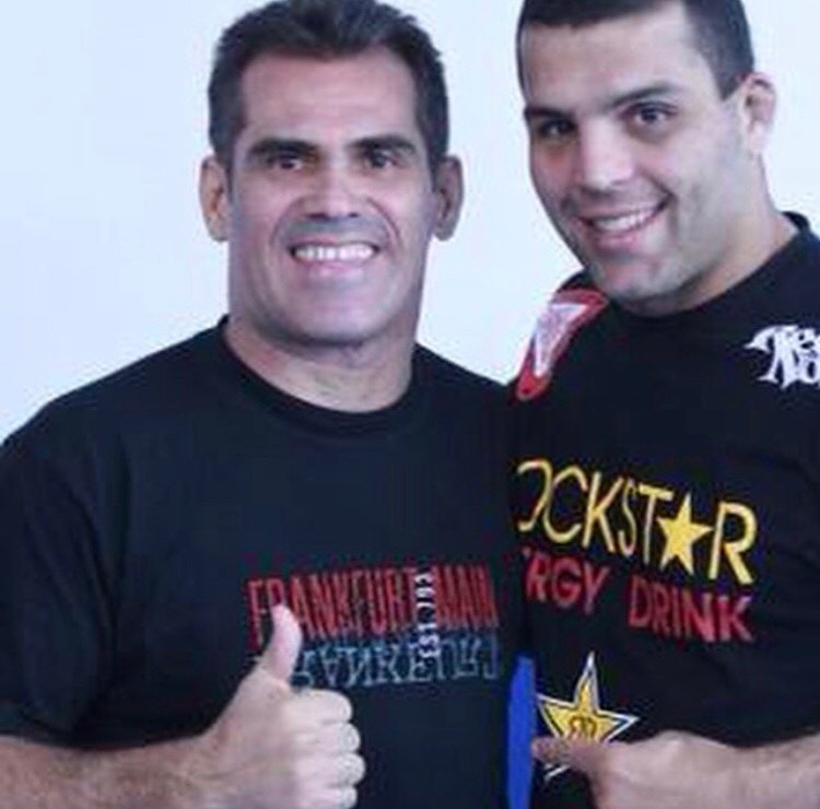 "Franco and MMA legend Murillo ""Ninja"" Rua"