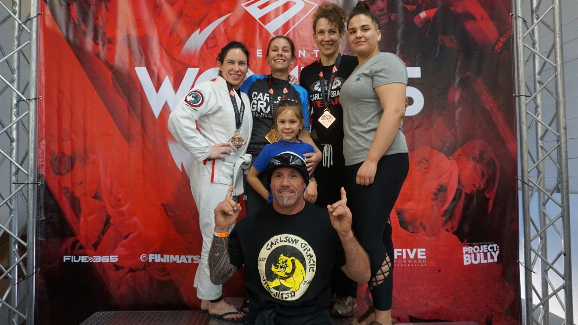 Five Grappling Women's Cup 1 Results